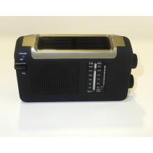 Radio solar con recarga USB