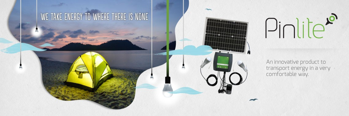 PinLite is a solar microstation that takes energy to where there is none.